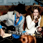 Lisa Marie Presley, Golden Slippers at Blacks Club, September 2012